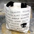 DESIGN WEST AUTHORS NAME TOTE BAG
