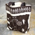 DESIGN WEST ROCK ART TOTE BAG