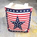 DESIGN WEST STARS & STRIPES TOTE BAG