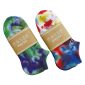 GD BEAR TIE DYE ANKLE SOCKS 22-25cm