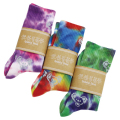 GD BEAR TIE DYE CREW SOCKS 22-25cm