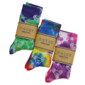 GD BEAR TIE DYE CREW SOCKS 25-27cm