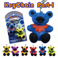 GRATEFUL DEAD BEAR KEY CHAIN PART-1