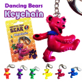 DANCING BEAR KEY HOLDER
