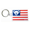 BEAR FLAG KEY RING
