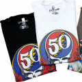 GD 50TH LOGO T-SHIRT BK/WH
