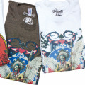 GD 50TH INDIAN T-SHIRT WH/BR