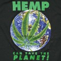 HEMP CAN SAVE THE PLANET T-SHIRTS