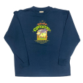 【 SCARF COW ON PACIFIC BLUE KIDS LONG SLEEVE 】スカーフ カウ オンパシフィックブルー