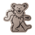 DANCING BEAR CHROME STICKER