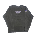 【 NEW YEAR'S 2003 LONG SLEEVE CHARCOAL  Mサイズ】ニューイヤーズイブ 2003