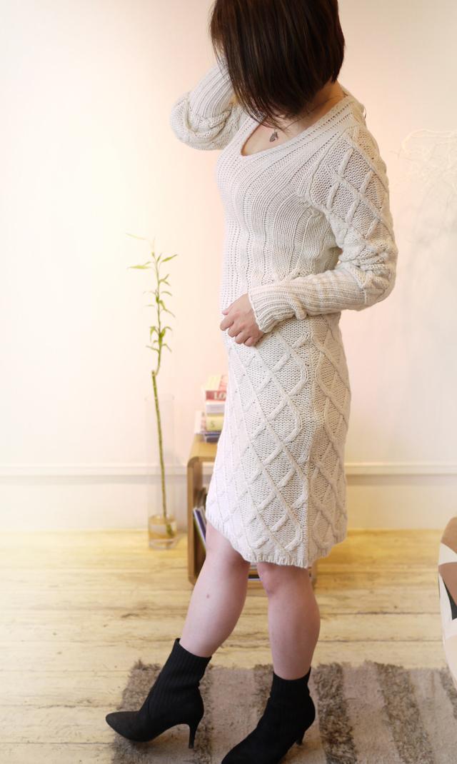 ニットドレス