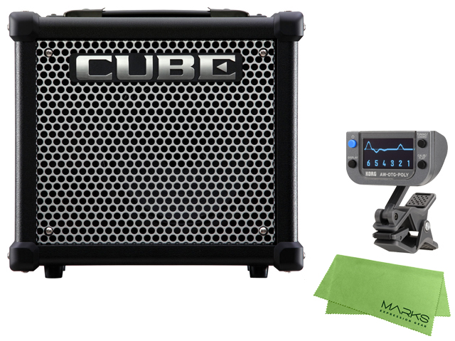 【即納可能】Roland CUBE-10GX + KORG AW-OTG-POLY + マークスオリジナルクロス セット(新品)【送料無料】