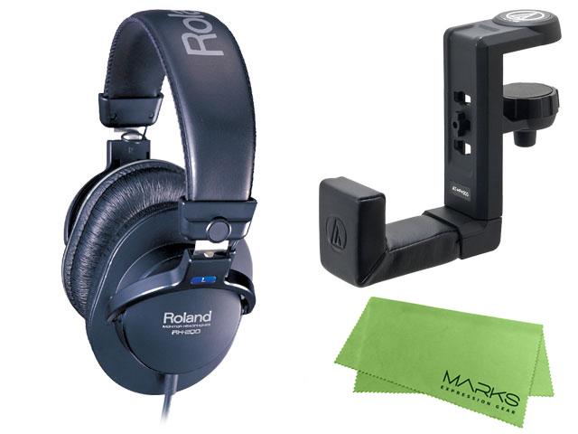 【即納可能】Roland RH-200 + audio-technica AT-HPH300 + マークスオリジナルクロス セット(新品)【送料無料】