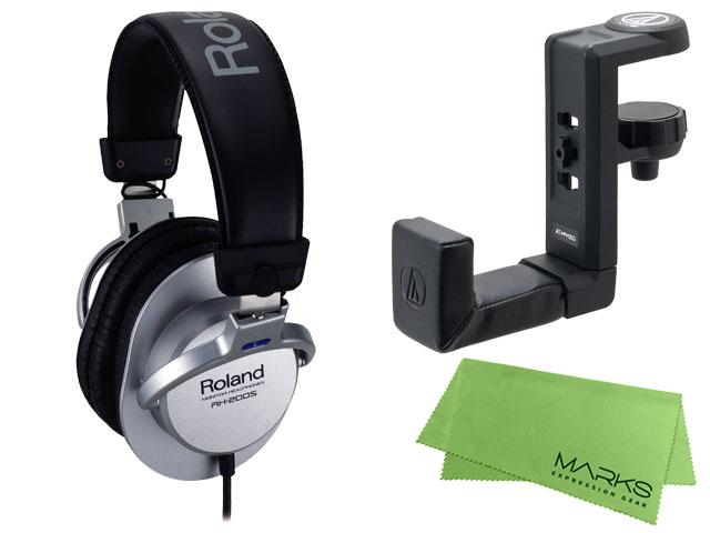 【即納可能】Roland RH-200S + audio-technica AT-HPH300 + マークスオリジナルクロス セット(新品)【送料無料】