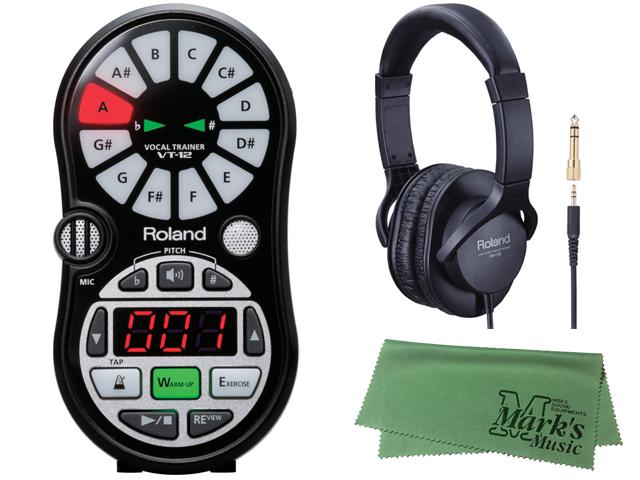 【ヘッドホン・RH-5セット】Roland VT-12 ブラック VT-12-BK(新品)【送料無料】