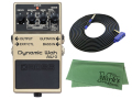 【即納可能】BOSS Dynamic Wah AW-3 + 3m ギターケーブル VOX VGS-30 セット[マークス・オリジナルクロス付](新品)【送料無料】