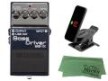 【即納可能】BOSS Bass Driver BB-1X + KORG Pitchclip 2 PC-2 + マークスオリジナルクロス セット(新品)【送料無料】