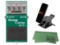 【即納可能】BOSS Bass Comp BC-1X + KORG Pitchclip 2 PC-2 + マークスオリジナルクロス セット(新品)【送料無料】