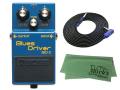BOSS Blues Driver BD-2 + 3m ギターケーブル VOX VGS-30 セット[マークス・オリジナルクロス付](新品)【送料無料】