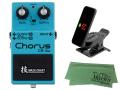 【即納可能】BOSS Chorus CE-2w + KORG Pitchclip 2 PC-2 + マークスオリジナルクロス セット(新品)【送料無料】