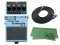 BOSS Chorus Ensemble CE-5 + 3m ギターケーブル VOX VGS-30 セット[マークス・オリジナルクロス付](新品)【送料無料】