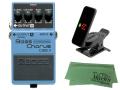 【即納可能】BOSS Bass Chorus CEB-3 + KORG Pitchclip 2 PC-2 + マークスオリジナルクロス セット(新品)【送料無料】