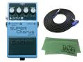 【即納可能】BOSS SUPER Chorus CH-1 + 3m ギターケーブル VOX VGS-30 セット[マークス・オリジナルクロス付](新品)【送料無料】