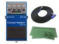 【即納可能】BOSS Compressor CP-1X + 3m ギターケーブル VOX VGS-30 セット[マークス・オリジナルクロス付](新品)【送料無料】