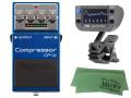 【即納可能】BOSS Compressor CP-1X + KORG AW-OTG-POLY + マークスオリジナルクロス セット(新品)【送料無料】