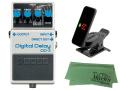 【即納可能】BOSS Digital Delay DD-3 + KORG Pitchclip 2 PC-2 + マークスオリジナルクロス セット(新品)【送料無料】