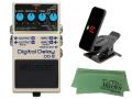 【即納可能】BOSS DD-8 + KORG Pitchclip 2 PC-2 + マークスオリジナルクロス セット(新品)【送料無料】