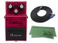 【即納可能】BOSS DM-2W(J) + 3m ギターケーブル VOX VGS-30 セット[マークス・オリジナルクロス付](新品)【送料無料】