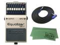 【即納可能】BOSS Equalizer GE-7 + 3m ギターケーブル VOX VGS-30 セット[マークス・オリジナルクロス付](新品)【送料無料】