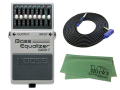 【即納可能】BOSS Bass Equalizer GEB-7 + 3m ケーブル VOX VGS-30 セット[マークス・オリジナルクロス付](新品)【送料無料】