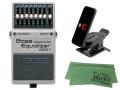 【即納可能】BOSS Bass Equalizer GEB-7 + KORG Pitchclip 2 PC-2 + マークスオリジナルクロス セット(新品)【送料無料】