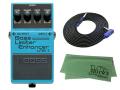 【即納可能】BOSS Bass Limiter Enhancer LMB-3 + 3m ケーブル VOX VGS-30 セット[マークス・オリジナルクロス付](新品)【送料無料】