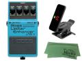 【即納可能】BOSS Bass Limiter Enhancer LMB-3 + KORG Pitchclip 2 PC-2 + マークスオリジナルクロス セット(新品)【送料無料】