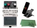 【即納可能】BOSS Line Selector LS-2 + KORG Pitchclip 2 PC-2 + マークスオリジナルクロス セット(新品)【送料無料】