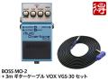BOSS Multi Overtone MO-2 + 3m ギターケーブル VOX VGS-30 セット(新品)【送料無料】