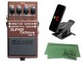 【即納可能】BOSS SUPER Octave OC-3 + KORG Pitchclip 2 PC-2 + マークスオリジナルクロス セット(新品)【送料無料】