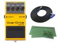 BOSS Overdrive OD-1X + 3m ギターケーブル VOX VGS-30 セット[マークス・オリジナルクロス付](新品)【送料無料】