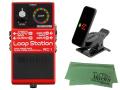【即納可能】BOSS Loop Station RC-1 + KORG Pitchclip 2 PC-2 + マークスオリジナルクロス セット(新品)【送料無料】