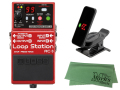 【即納可能】BOSS Loop Station RC-3 + KORG Pitchclip 2 PC-2 + マークスオリジナルクロス セット(新品)【送料無料】