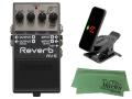 【即納可能】BOSS Reverb RV-6 + KORG Pitchclip 2 PC-2 + マークスオリジナルクロス セット(新品)【送料無料】