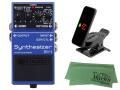 【即納可能】BOSS Synthesizer SY-1 + KORG Pitchclip 2 PC-2 + マークスオリジナルクロス セット(新品)【送料無料】
