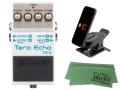 【即納可能】BOSS Tera Echo TE-2 + KORG Pitchclip 2 PC-2 + マークスオリジナルクロス セット(新品)【送料無料】