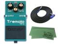 【即納可能】BOSS Tremoro TR-2 + 3m ギターケーブル VOX VGS-30 セット[マークス・オリジナルクロス付](新品)【送料無料】