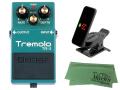 【即納可能】BOSS Tremolo TR-2 + KORG Pitchclip 2 PC-2 + マークスオリジナルクロス セット(新品)【送料無料】