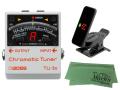 【即納可能】BOSS TU-3s + KORG Pitchclip 2 PC-2 + マークスオリジナルクロス セット(新品)【送料無料】